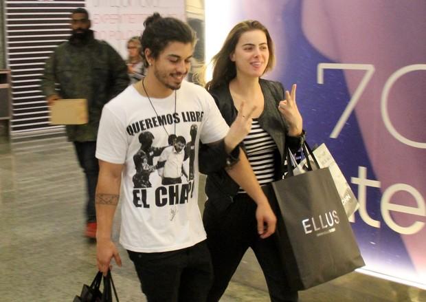 Rayanne Morais e Douglas Sampaio (Foto: Agnews)