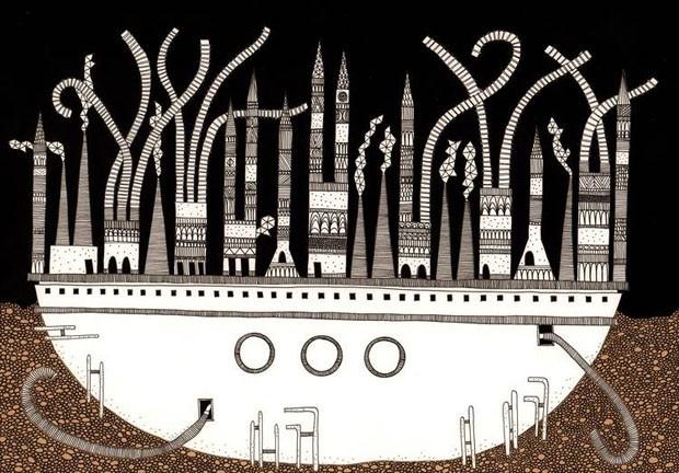 Cidades Invisíveis de Italo Calvino ganham versão ilustrada (Foto: Divulgação)