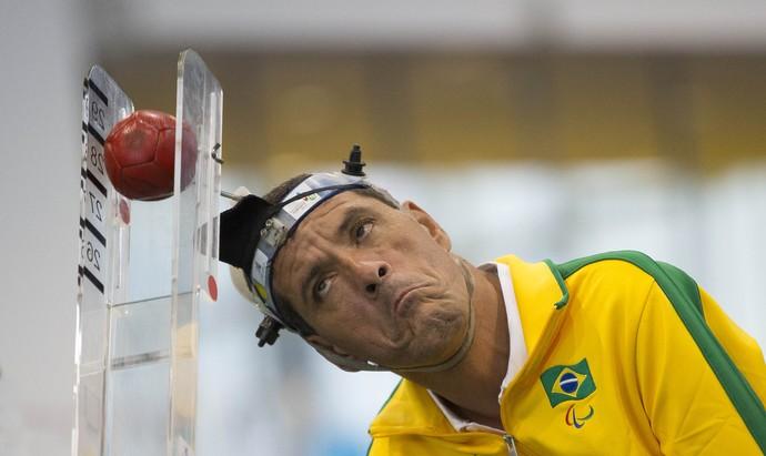 Antônio Leme; bocha; parapan (Foto: Leandra Benjamin /MPIX/CPB)