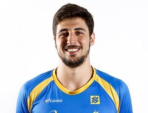 Arthur, seleção brasileira handebol (Foto: Divulgação/CBHb)