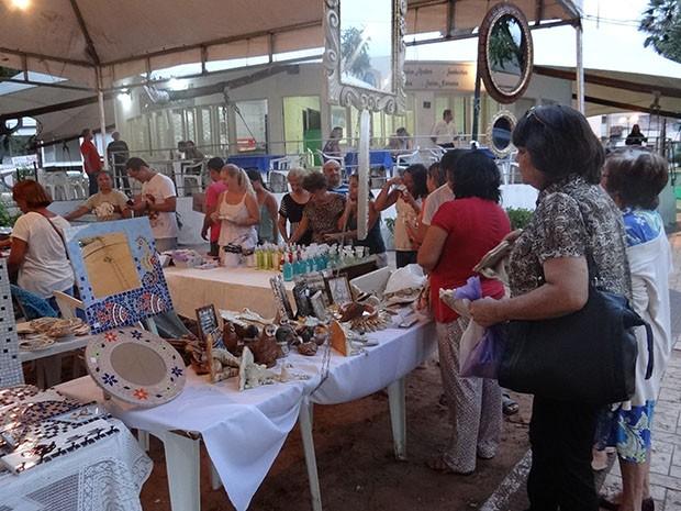 Aparador Grande Salon ~ G1 Feira de Artes oferece oficinas de artesanato em Natal notícias em Rio Grande do Norte
