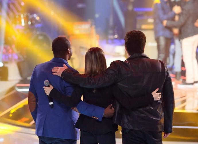 Trio de jurados resume o SuperStar em 70 segundos  (Foto: Isabella Pinheiro/ Gshow)