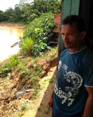 Bairro Leonardo Barbosa pode ser separado do Brasil em Brasiléia (Foto: Yuri Marcel / G1)