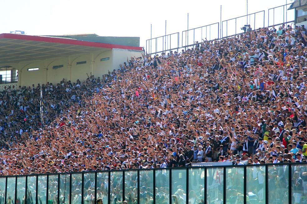 Expectativa é de que a torcida do Vasco transforme São Januário em um caldeirão novamente (Foto: Paulo Fernandes/Vasco)