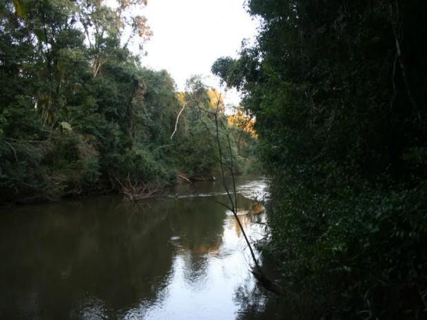 Rio Paranapanema (Foto: Acervo Digital da Prefeitura de Capão Bonito)