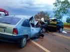 Motorista morre e policial fica ferido em acidente na David Eid em Lins