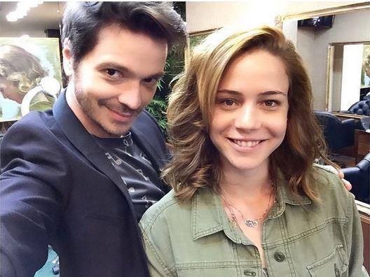 Tiago Parente e Leandra Leal (Foto: Reprodução do Instagram)