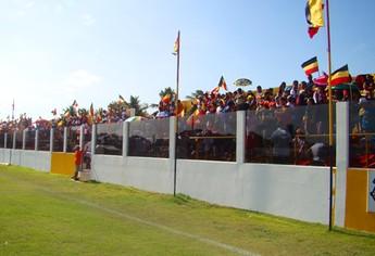 Estádio Mário Couto, do Santa Cruz de Cuiarana (Foto: Reprodução/Site do clube)