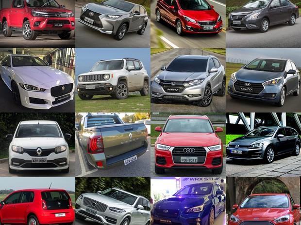Enquete - Carros 2015 (Foto: Divulgação)