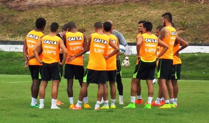 Figueirense em Manaus (Foto: Ronaldo Nascimento/Figueirense)