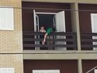 Menino argentino que caiu de sacada no RS recebe alta em Porto Alegre