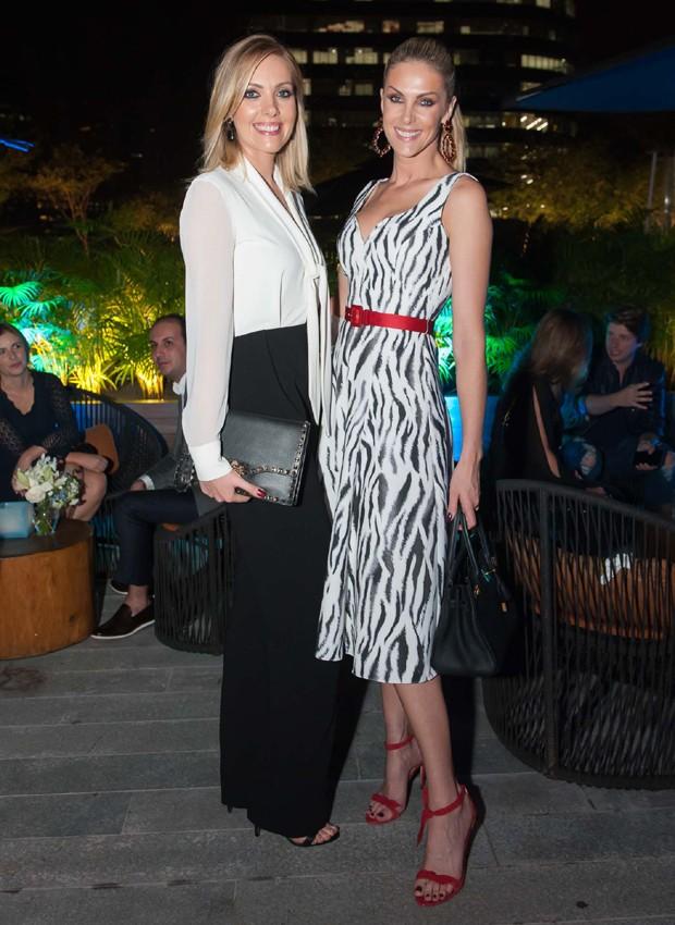 Fernanda Hickmann e Ana Hickmann (Foto: Samuel Chaves/Brazil News)