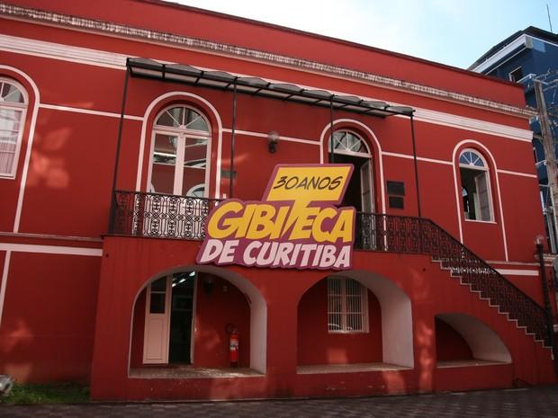Gibiteca de Curitiba (Foto: Divulgação/ FCC)