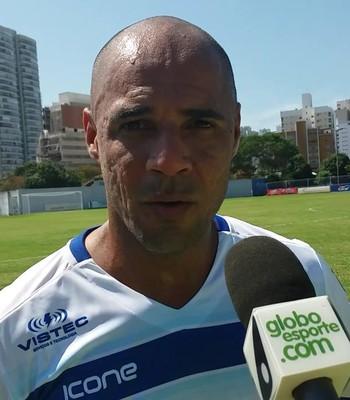 Hércules, atacante do Vitória-ES (Foto: Richard Pinheiro/GloboEsporte.com)