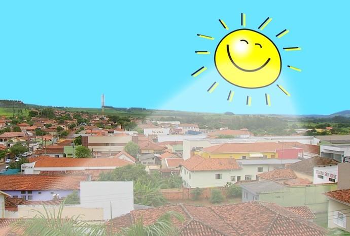 Um belo dia de sol e muita alegria, pode ser a fartura para muitos! (Foto: Reprodução / TV TEM)