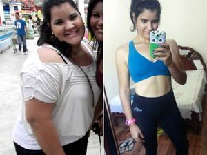 Comparação (Foto: Raíra Sales / Arquivo pessoal)