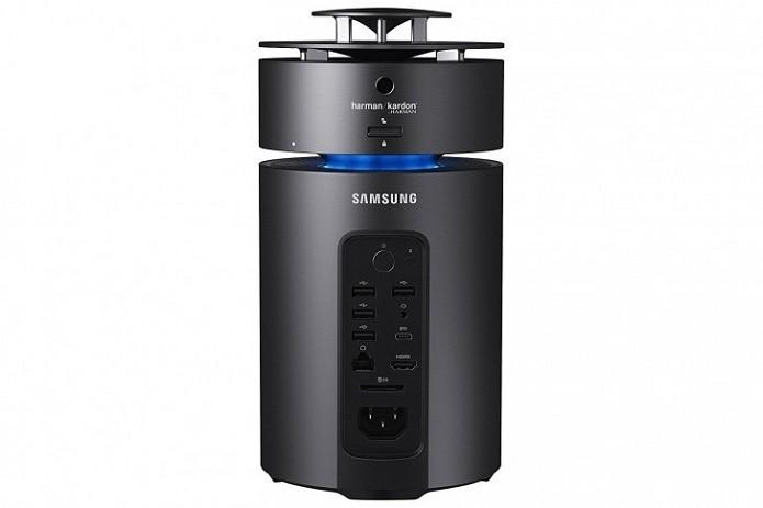 Computador da Samsung não é tão discreto quanto o Mac Pro (Foto: Divulgação/Samsung)