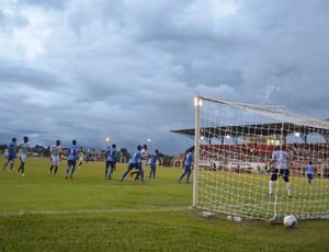 Espigão vence partida de estreia no Rondoniense (Foto: Paula Casagrande)