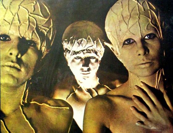 Sérgio Dias, Arnaldo Baptista e Rita Lee no auge dos Mutantes (Foto: Reprodução)