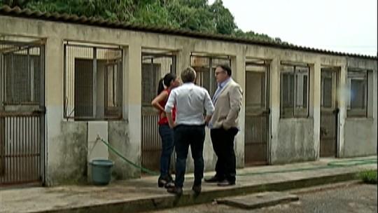Vistoria encontra estrutura precária no CCZ de Suzano