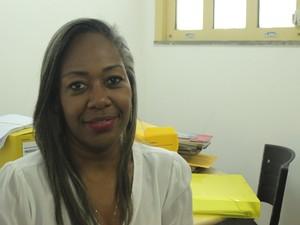 Delegada da Mulher de São Raimundo Nonato  (Foto: Beto Marques/G1)