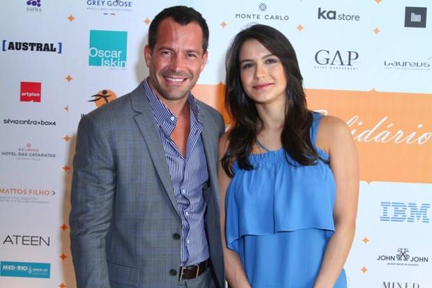 Malvino Salvador e Kiria Grayce (Foto: AgNews  / AgNews)
