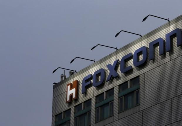 Fachada de uma das fábricas da Foxconn (Foto: Tyrone Siu/Arquivo/Reuters)