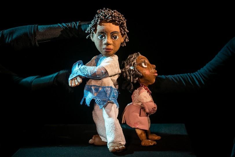 teatro infantil menino coragem articulante2 (Foto: João Valério)