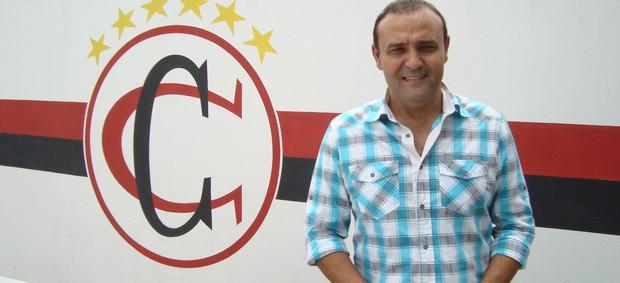 William Simões, presidente do Campinense (Foto: Larissa Keren / Globoesporte.com/pb)