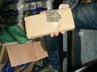 Dupla é presa com 1,2 tonelada de maconha em carga de guardanapos