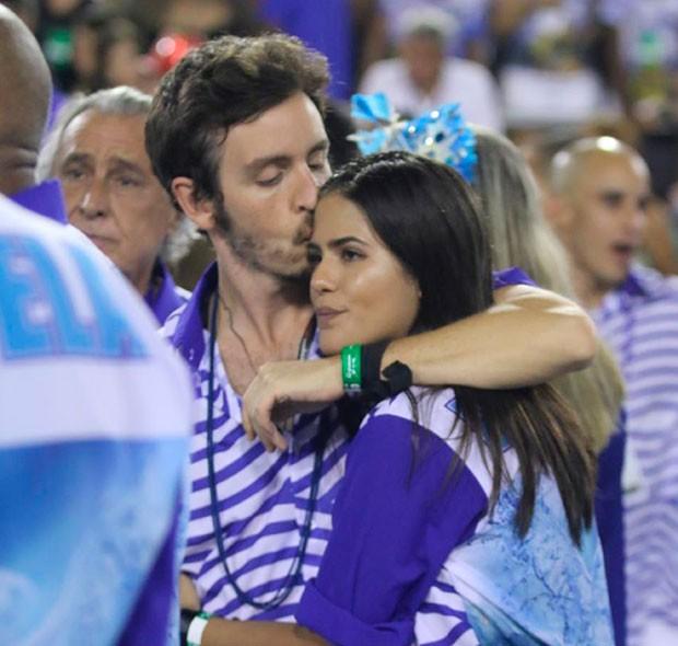 Antônia Moraes e Wagner Santisteban (Foto: Daniel Pinheiro /AgNews)