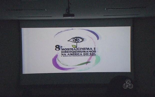 8ª Mostra Cinema e Direitos Humanos na América do Sul, em Rio Branco (Foto: Reprodução TV Acre)