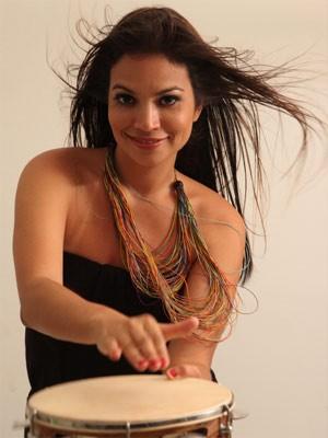A cantora Flávia Bittencourt lança novo CD em Campinas  (Foto: Maria Thereza Soares)