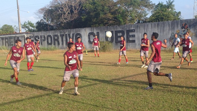 Trem; Amapá; Futebol (Foto: Rafael Moreira/GE-AP)