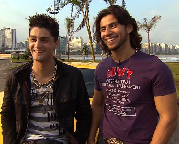 Munhoz e Mariano (Foto: Divulgação / TV Globo)