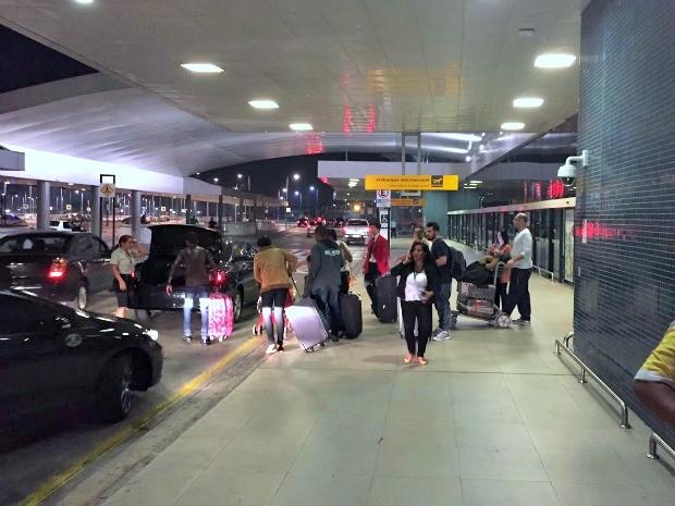 Mesmo com atrasos movimentação foi tranquila no aeroporto de Manaus (Foto: Gabriel Machado/G1 AM)