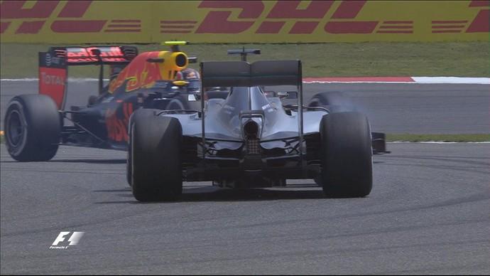 Lewis Hamilton roda em 1º treino livre para o GP da China (Foto: Divulgação)