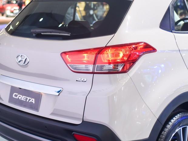 Hyundai Creta é apresentado no Salão do Automóvel em São Paulo 2016 (Foto: Flavio Moraes/G1)