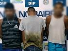 Pai e filhos são presos com drogas e arma de fogo em Manaus, diz PM