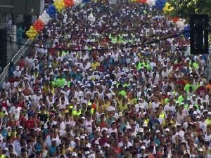Santos terá esquema especial para o trânsito durante os 10 Km Tribuna FM (Foto: Reprodução / TV Tribuna)