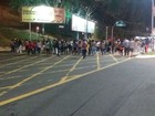 Protesto de estudantes deixa tráfego lento na Av. ACM