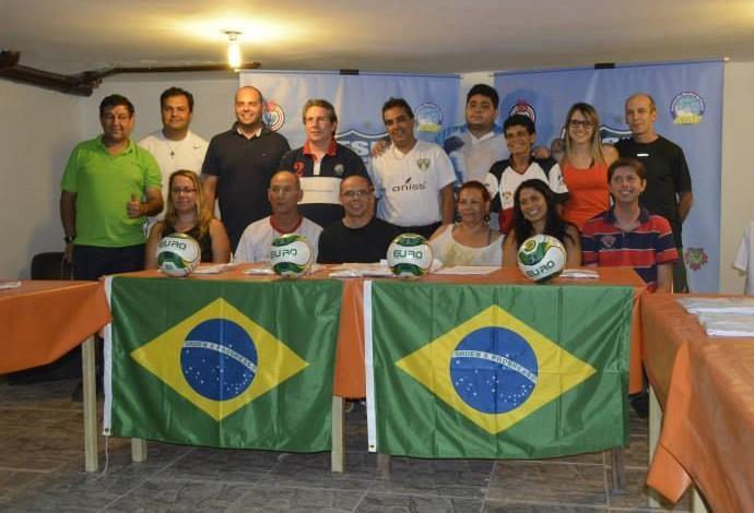 Lançamento Conferdação de Futebol de Salão do Brasil (Foto: Reprodução Facebook)