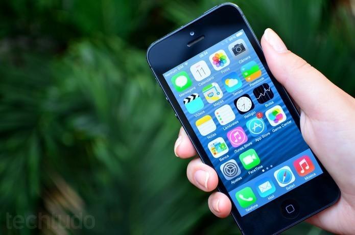 iPhone 5S tem função Não Perturbe para bloquear notificações (Foto: Anna Kellen Bull/TechTudo)