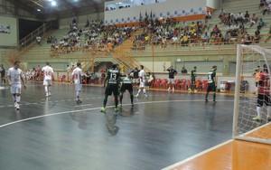 Sorocaba x Assoeva, pela Liga Futsal (Foto: Emílio Botta)