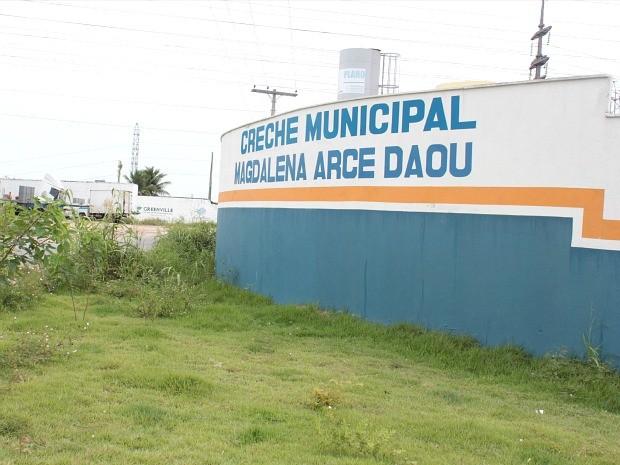 A creche Magdalena Arce Daou está localizada no Jardim Mauá, bairro Mauazinho, Zona Leste da capital  (Foto: Katiúscia Monteiro/G1 AM)