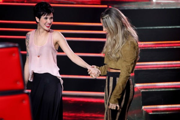 Bella Stone está no time de Claudia Leitte, no The Voice Brasil (Foto: The Voice Brasil/TV Globo)