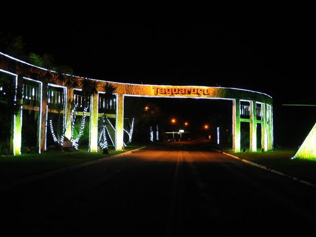 Programação de Natal chega a Taquaruçu neste sábado (5) (Foto: Valério Zelaya/ Prefeitura de Palmas)