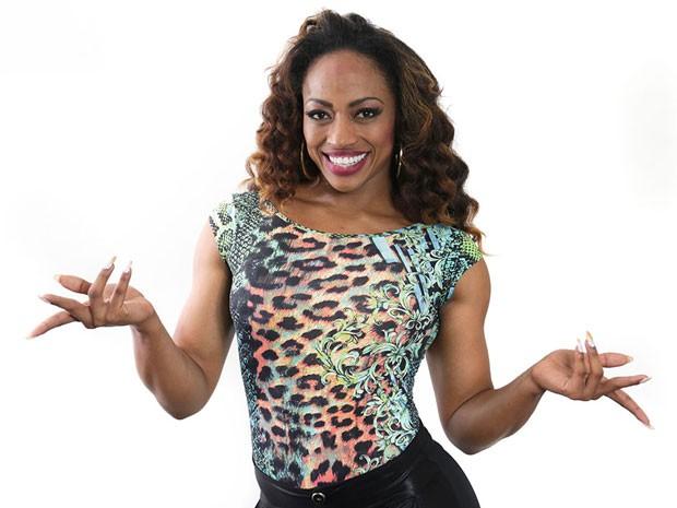 Janaína da Silva Simões, 29 anos, dançarina, atleta e modelo, 1,71 m (Foto: José Cordeiro/SPTuris)