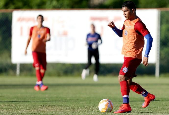 Yuri; Bahia; treino (Foto: Felipe Oliveira/Divulgação/EC Bahia)