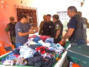 Prisão suspeitos de matar homem que reagiu a assalto em Santarém (Foto: Reprodução/TV Tapajós)